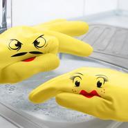 Hand-Puppet Dish Gloves