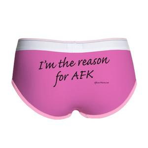 Reason for AFK