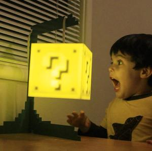 The Question Block Lamp