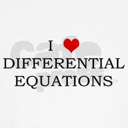 I <3 differential equations