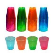 Northwest Enterprises Hard Plastic 2-Ounce Shot Glasses