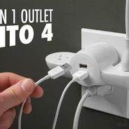 Pivot Power Mini Portable Power Outlet